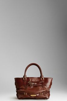 Burberry Medium Bridle Leather Tote Bag - Lyst