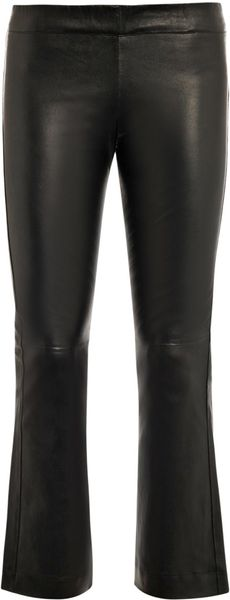 Elizabeth And James Allen Leather Trousers - Lyst