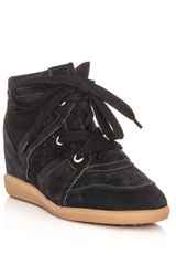 Isabel Marant Bobby Wedge Trainers - Lyst