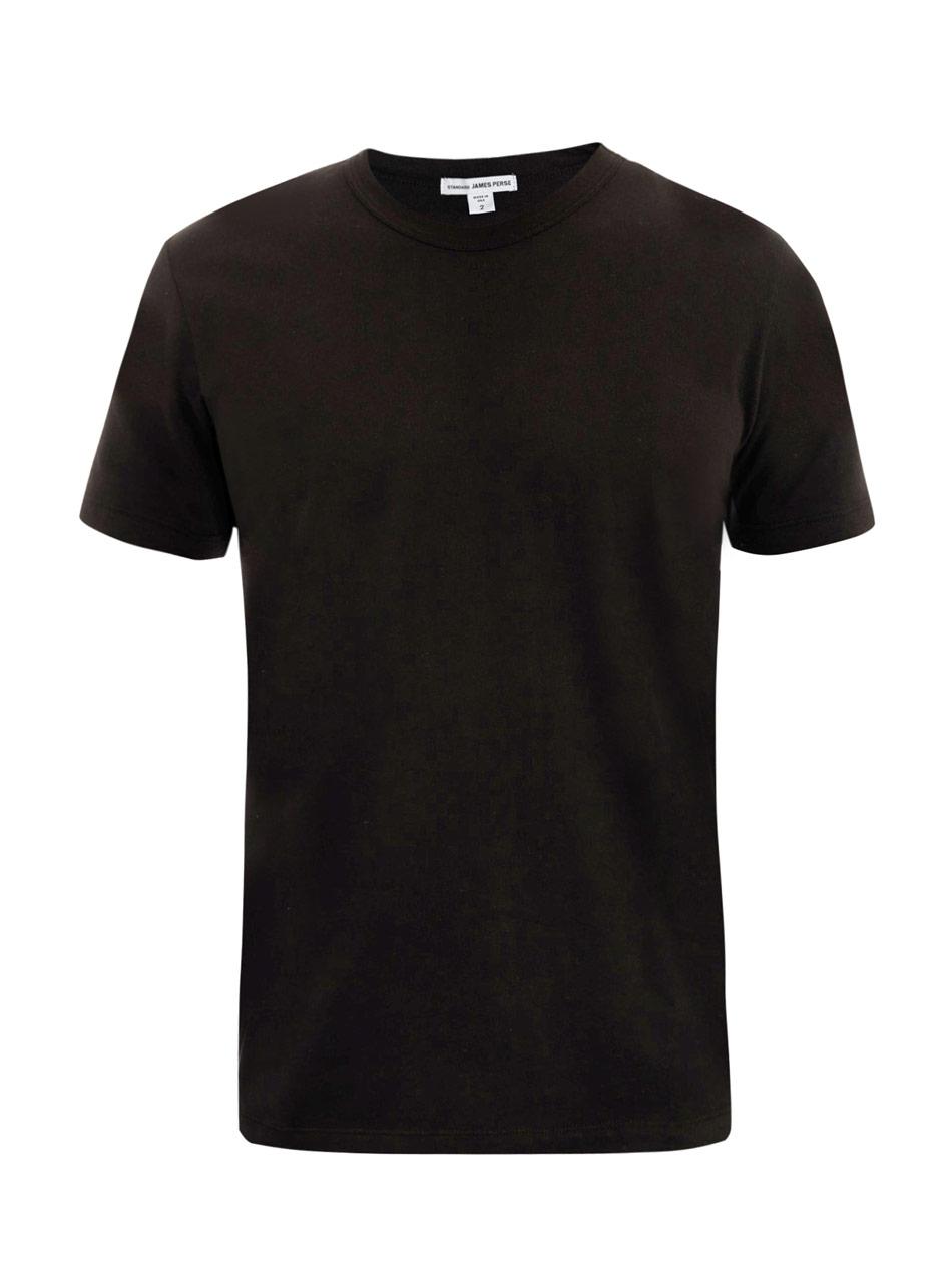 lyst james perse v neck t shirt in black for men