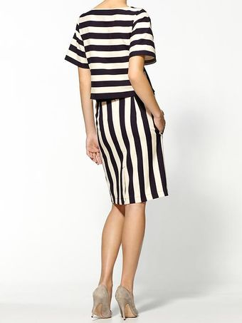 Marc By Marc Jacobs Scooter Stripe Dress - Lyst
