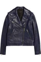 Rag & Bone Bowery Leather Biker Jacket - Lyst