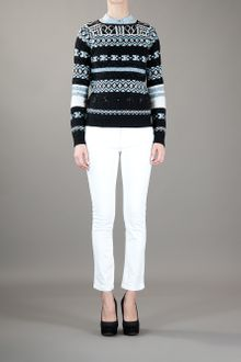 Emilio Pucci Embroidered Sweater - Lyst