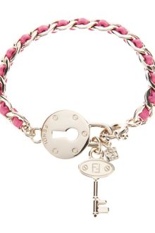 Fendi Lock and Key Bracelet - Lyst