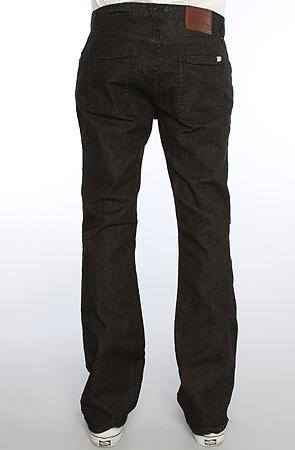 5b9ff2eaa171 Lyst - Vans The V66 Slim Jeans in Black in Black for Men