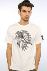 Vans The Headdress Tee in White in White for Men - Lyst