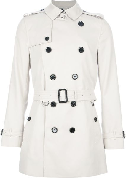 Burberry Britton Coat in Beige for Men