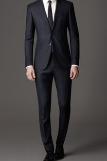 Burberry Modern Fit Windowpane Check Virgin Wool Suit - Lyst