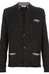 Roberto Collina Wool Blend Cardigan - Lyst