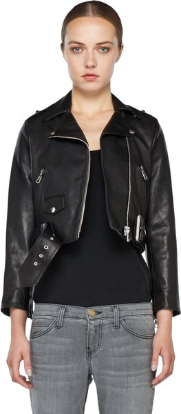 Acne Mape Petite Jacket in Black - Lyst