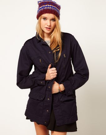 ASOS Collection Asos Army Parka - Lyst