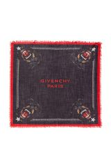 Givenchy Rottweiler Scarf in Black - Lyst