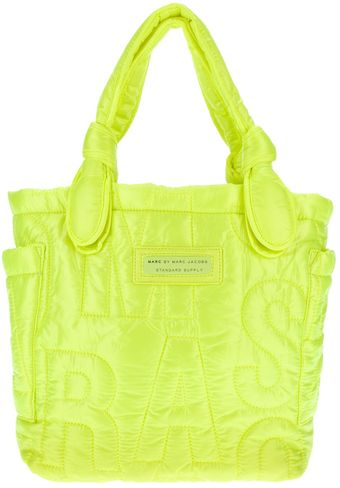Marc By Marc Jacobs Tate Quilted Tote - Lyst