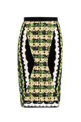 Peter Pilotto Geometricprint Pencil Skirt - Lyst