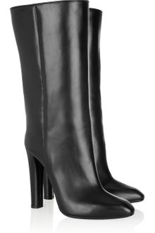 Alexander Wang Edythe Leather Knee Boots - Lyst