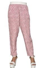 Antonio Marras Printed Techno Crepe De Chine Trousers - Lyst