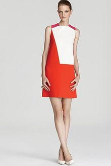 Cynthia Steffe Dress Rory Color Block - Lyst