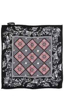 Dolce & Gabbana Silk Twill Pocket Square - Lyst