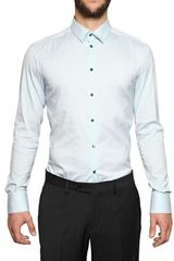 Dolce & Gabbana Cotton Poplin Stretch Shirt - Lyst