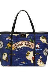 Dolce & Gabbana Medium Escape Printed Canvas Bag - Lyst