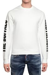 DSquared2 Buffalo Brothers Cotton Sweatshirt - Lyst