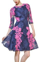 Erdem Cotton Lace Dress - Lyst