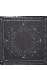 Givenchy Stars Print Light Cotton Bandana Scarf - Lyst