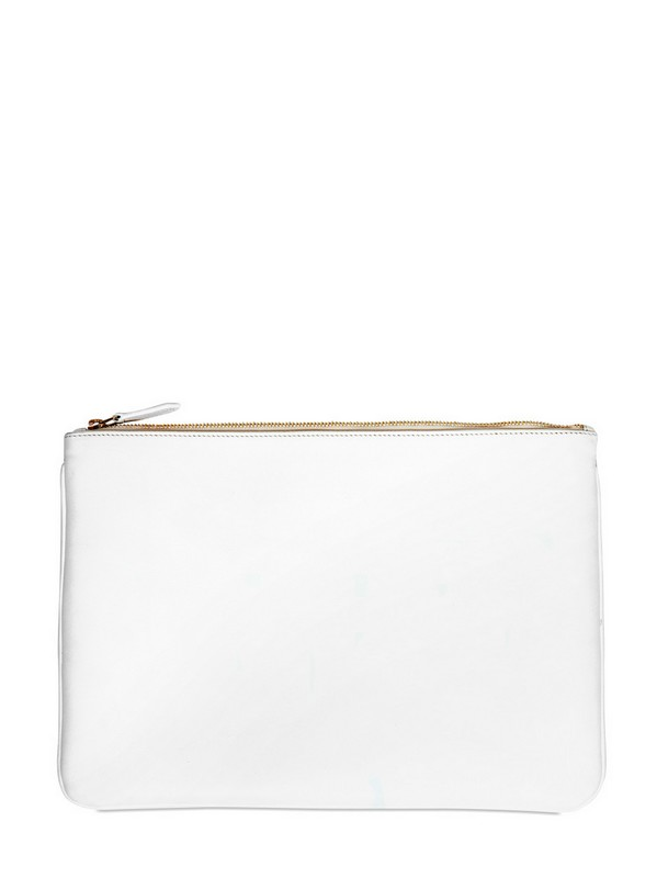Givenchy Madonna 17 Printed Canvas Big Pouch Bag in White for Men ...