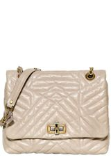 Lanvin Medium Happy Quilted Leather Bag - Lyst