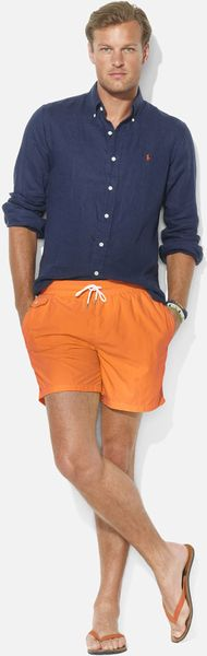 Polo Ralph Lauren Traveler Volley Swim Shorts - Lyst