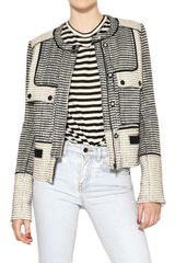 Proenza Schouler Cotton Tweed Jacket - Lyst