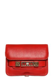 Proenza Schouler Ps11 Mini Classic Grained Leather Bag - Lyst