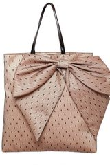 RED Valentino Bow Point Despirit Satin Tote - Lyst