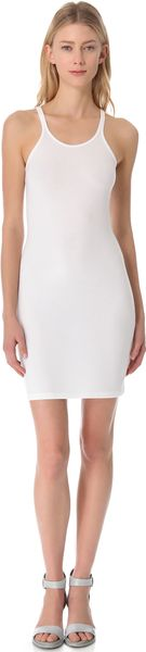 T By Alexander Wang Tank Dress - Lyst