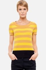 Akris Punto Stripe Wool Sweater - Lyst