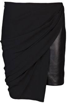 Alexander Wang Draped Skirt - Lyst