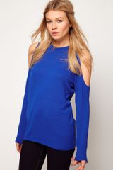 ASOS Collection Asos Top with Cold Shoulder - Lyst