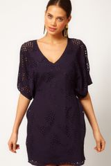 ASOS Collection Asos Dress in Cutwork - Lyst