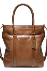 Coach Bleecker Leather Tote - Lyst