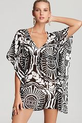 Echo Medallion Print Butterfly Swimsuit Coverup - Lyst