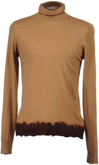 Emporio Armani High Neck Sweater - Lyst