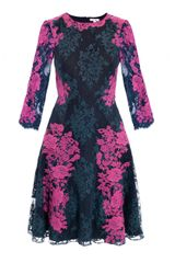 Erdem Lily Lace Embroidered Dress - Lyst