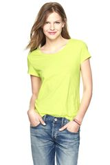Gap Essential Short Sleeve T-Shirt - Lyst