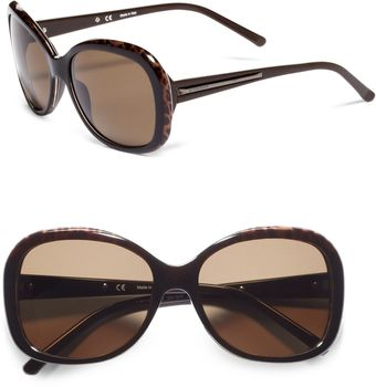 Givenchy Oversized Leopard Sunglasses - Lyst