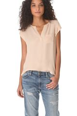 Joie Siegal Top - Lyst
