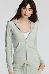 Juicy Couture Velour Hoodie - Lyst