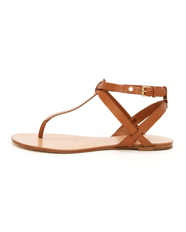 Michael Kors Brown Flat Shoes