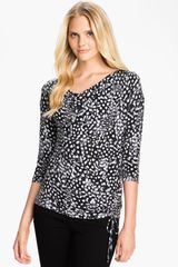 Michael by Michael Kors Boatneck Top Petite - Lyst