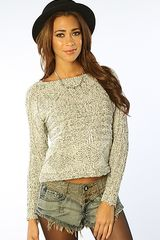 Mink Pink The Cable Guy Jumper - Lyst