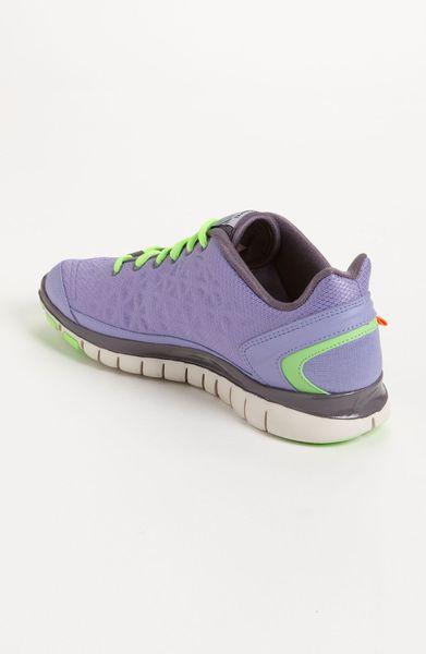 Nike Free Tr Fit 2 Shield Training Shoe Women in (violet/ dark plum